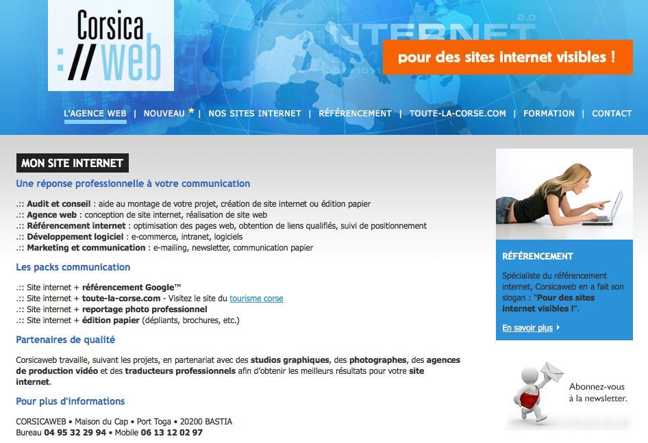 17474e77e13 informatique bastia corsicaweb - tourism corsica