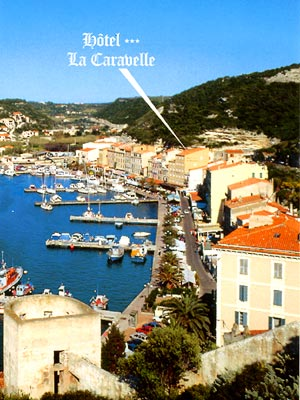 Corse tourisme corse for Restaurant bonifacio port
