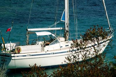 bateau avec skipper saint florent